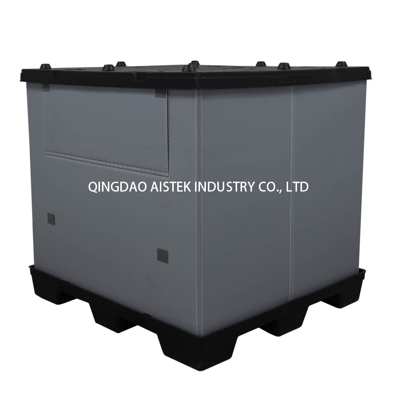 Collapsible Plastic Bulk Container